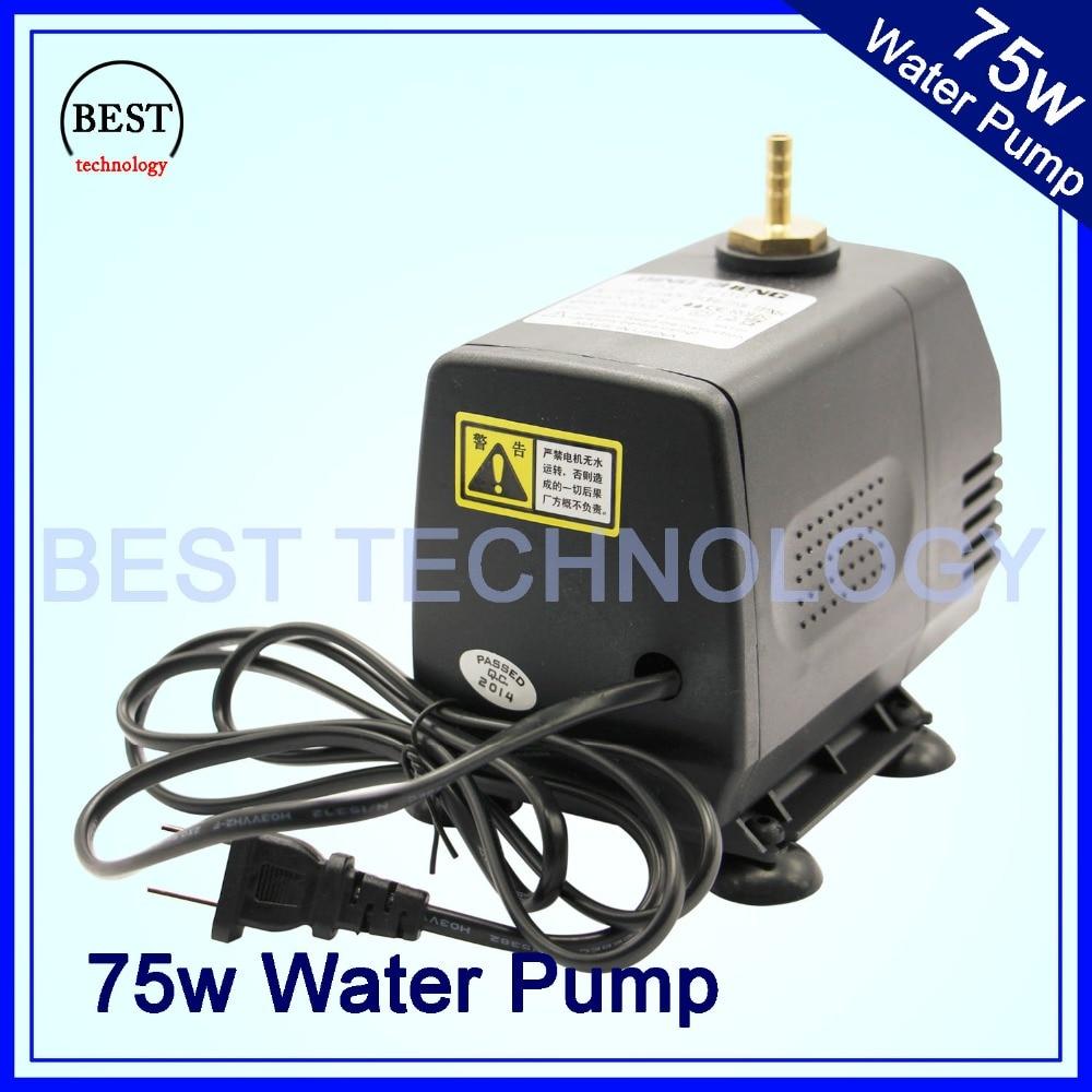 все цены на pump 75w 220V water pump max head 3.2m,max flow 3200L/H Multi-function submersible pump!