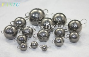 FANTU 97% Wolfram Cheburashka Fishing Weight 10pcs Tungsten Cheburashka Sinker Plain Color(China)