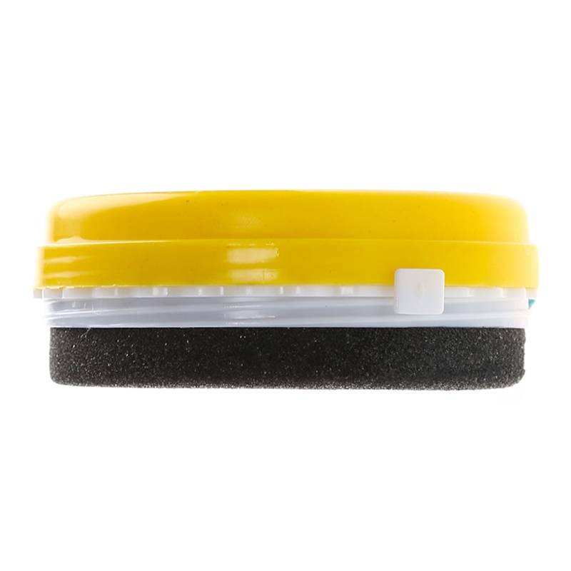 New Arrive Quick Shine Shoes Sponge Brush Polish Wax Dust Cleaner Cleaning Tool Colorless biaobang car polishing wax w sponge pad 200g