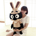 2015 Hot Sale!!kawaii, Plush Toys, Baby Toys Rabbi Pirate Bunny Rabbit Doll Buck Teeth Cute Bunny Cotton Material Free Shipping
