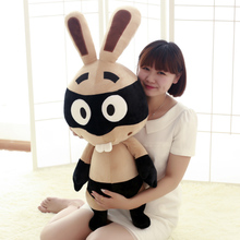 2015 Hot Sale!!kawaii, Plush Toys, Baby Toys Rabbi Pirate Bunny Rabbit Doll Buck Teeth Cute Bunny Cotton Material Free Shipping