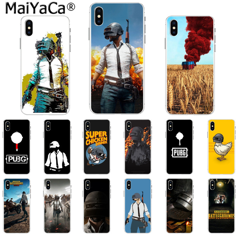 Yinuoda Playerunknowns Battlegrounds Pubg Novelty Fundas Phone Case Cover For Iphone 6s 6plus 7 7plus 8 8plus X Xs Max 5 5s Xr Low Price Cellphones & Telecommunications