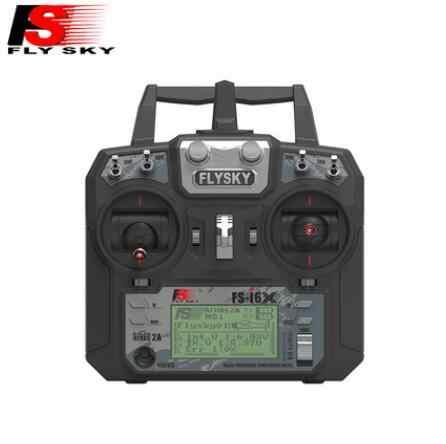 Original Flysky FS-i6X 10CH 2,4 GHz AFHDS 2A RC transmisor + FS-iA6B/FS-iA10B/FS-X6B/FS-A8S receptor para Avión Rc (