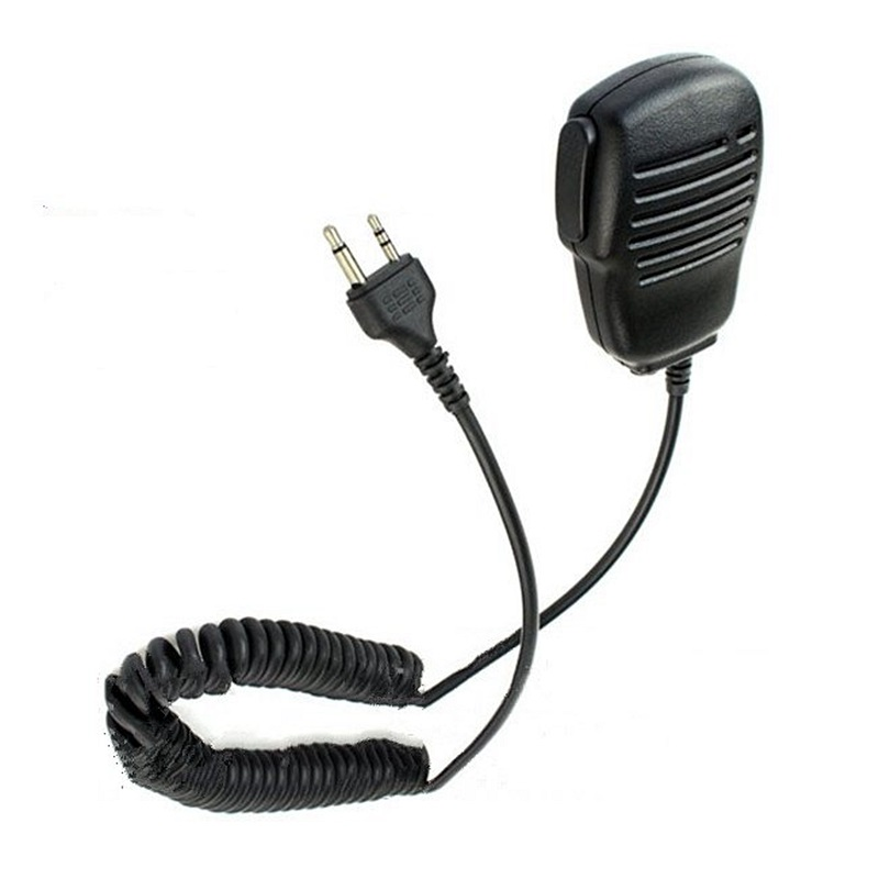 Rainproof Shoulder Remote Speaker Mic Microphone PTT 2pin For Midland Portable Radio GXT550/650 GXT1000 GXT1000VP4 LXT210/216