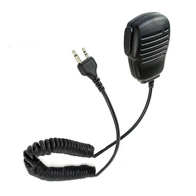 Rainproof Shoulder Remote Speaker Mic Microphone PTT 2pin For Midland Portable Radio GXT550/650 GXT1000 GXT1000VP4 LXT210/216