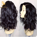Full lace human hair wigs for black women virgin glueless lace front human hair wigs brazilian full lace wigs with baby hair