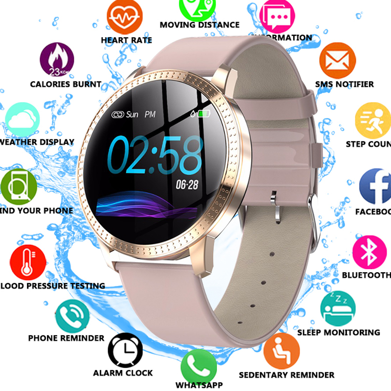 New Tempered Glass Smart Watch Blood Pressure Heart Rate Monitor Fitness Tracker Smartwatch connect Android Iphone 6 7 8 WatchNew Tempered Glass Smart Watch Blood Pressure Heart Rate Monitor Fitness Tracker Smartwatch connect Android Iphone 6 7 8 Watch
