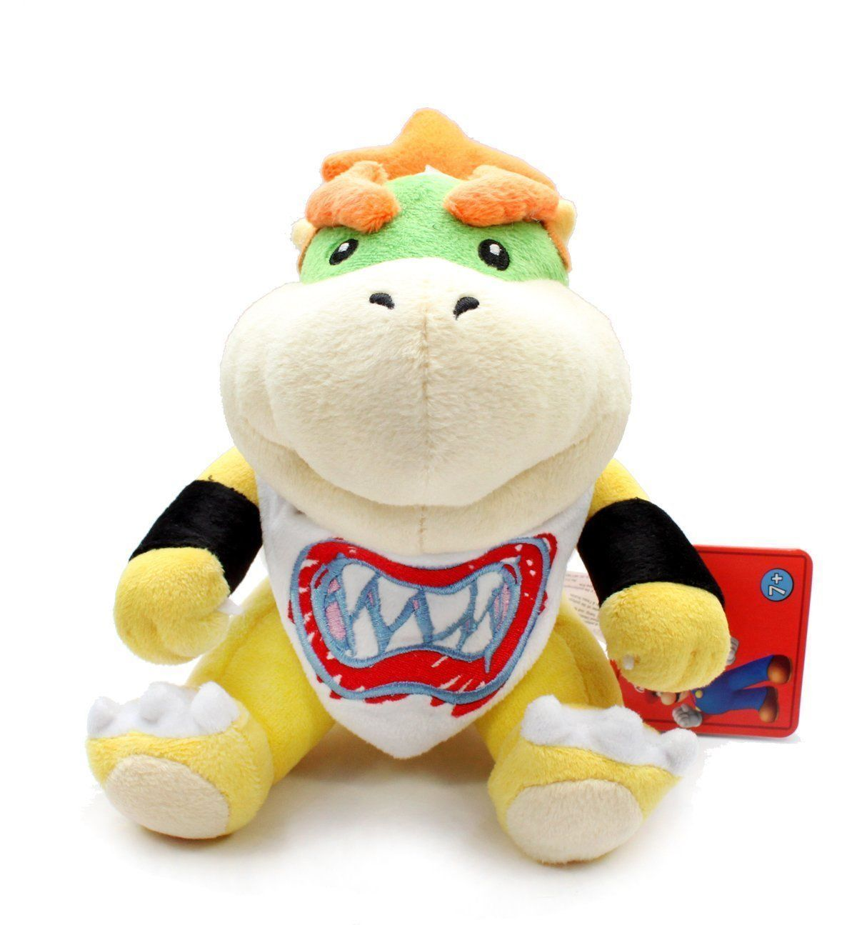 Cute 7in Baby Bowser Jr Koopa Plush Fingure Doll Toy Super Mario Brother Figure Stuffed Animal Xmas Gift Wholesale