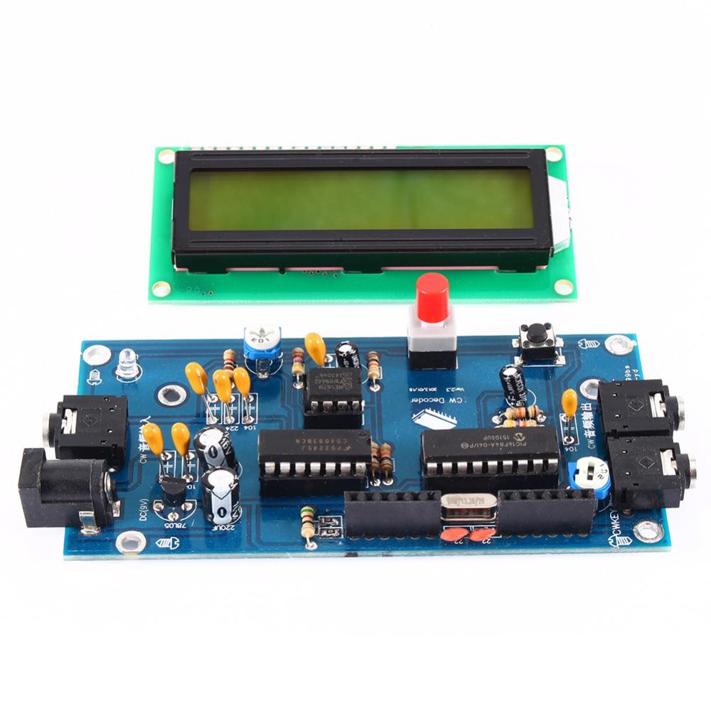 Ham Radio Essential CW Decoder Morse Code Reader Morse Code Translator Ham Radio Accessory DC7-12V/500mA Free Shipping ...