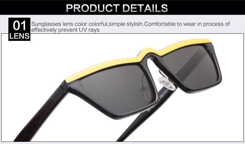 HTB1hDOmclTH8KJjy0Fiq6ARsXXaN - Winla Fashion Design Women Sun Glasses Flat Top Sunglasses Square Frame Classic Shades Vintage Eyewear Oculos de sol WL1145