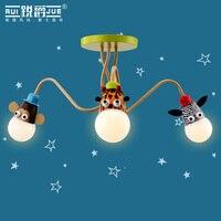 2015 new modern chandelier children room lights novelty bedroom lighting cute carton lights kids dimming led ceiling lamp