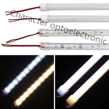 10Pcs 50cm DC12V SMD 5630/5730 LED Rigid Strip Bar Light+pc cover Light tube (warm white / cool white)