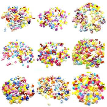 50PCS Random Mixed Decorative Buttons Lovely Conveyance Mix Sewing Wooden Plastic Buttons Flatblck Scrapbooking image
