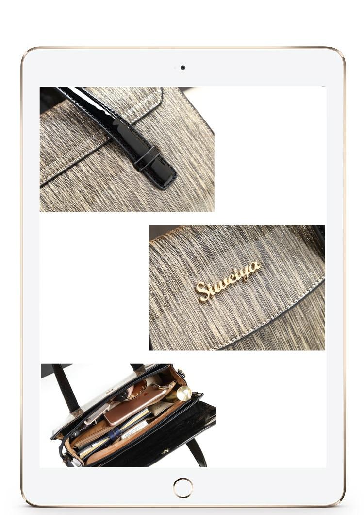 sacs designer en cuir vernis