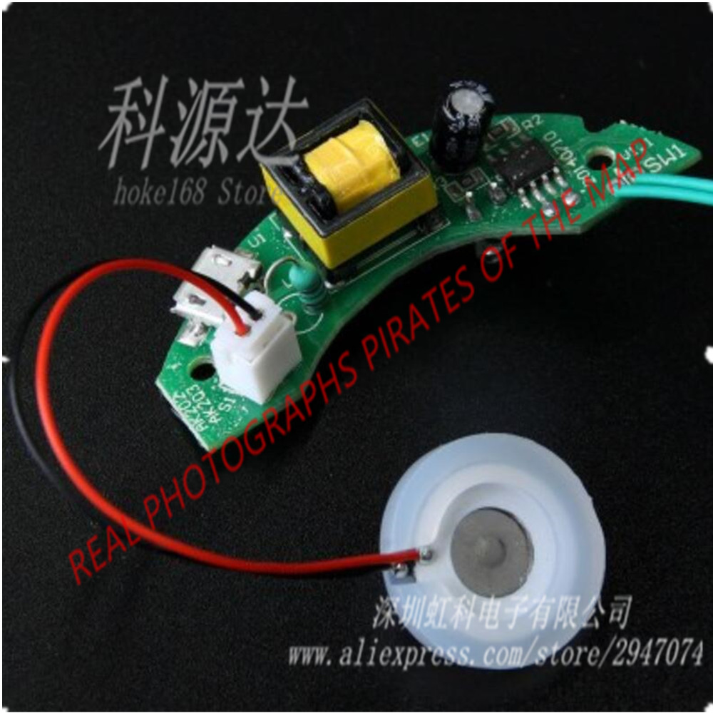 Replacement Usb Dc 5v Humidifier Circuit Board Atomizing Drive Plate 50w Ultrasonic Piezoelectric Ceramic Transducer For Mini Air Chip Integrated Sold By Piece