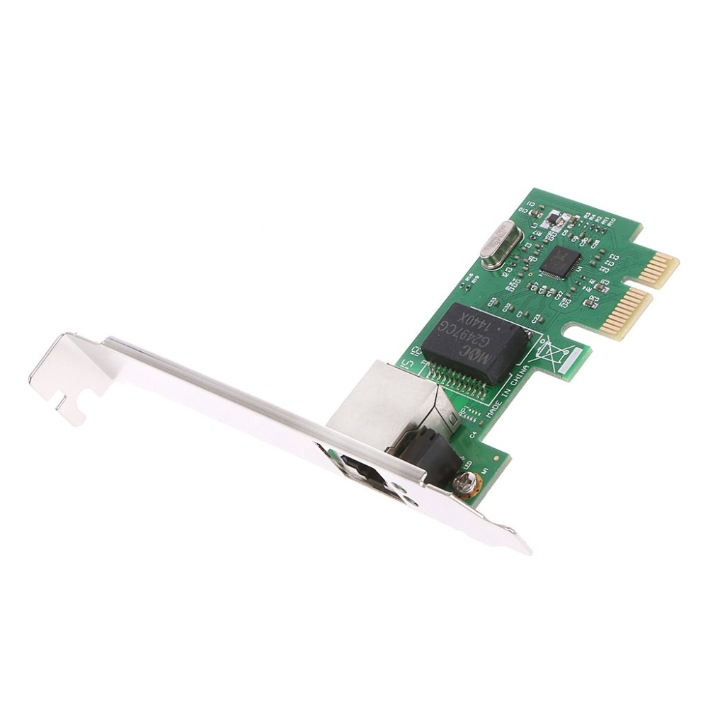 Computer Accessories Gigabit Ethernet LAN PCI Express PCI-e Network Controller Card 1pc
