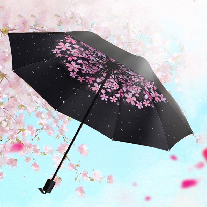 зонтик под дождем фото для рисования