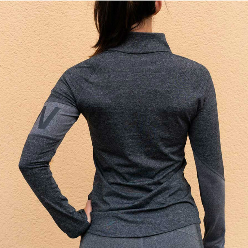Zogaa spring new ladies Sweatshirt fashion casual sports gym Sweatshirt stand collar slim printing color matching Sweatshirt