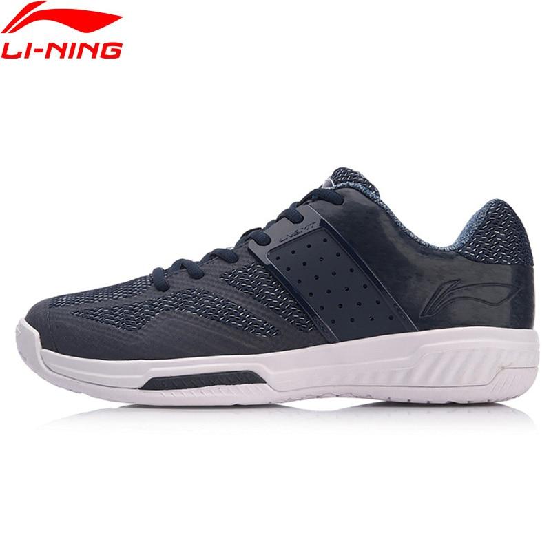 Li-ning hommes nuage Badminton chaussures d'entraînement coussin portable TPU Supoort doublure Fitness Sport chaussures baskets AYTN041 XYY120