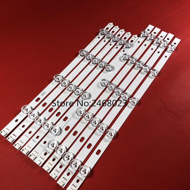100 New 9 LEDs 850mm LED Backlight strip For LG 42 inch TV T420HVN05 2 innotek