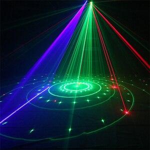 Image 5 - Disco Laserlicht Rgb Full Color Beam Light Dj Effect Projector Scanner Laser Podium Verlichting