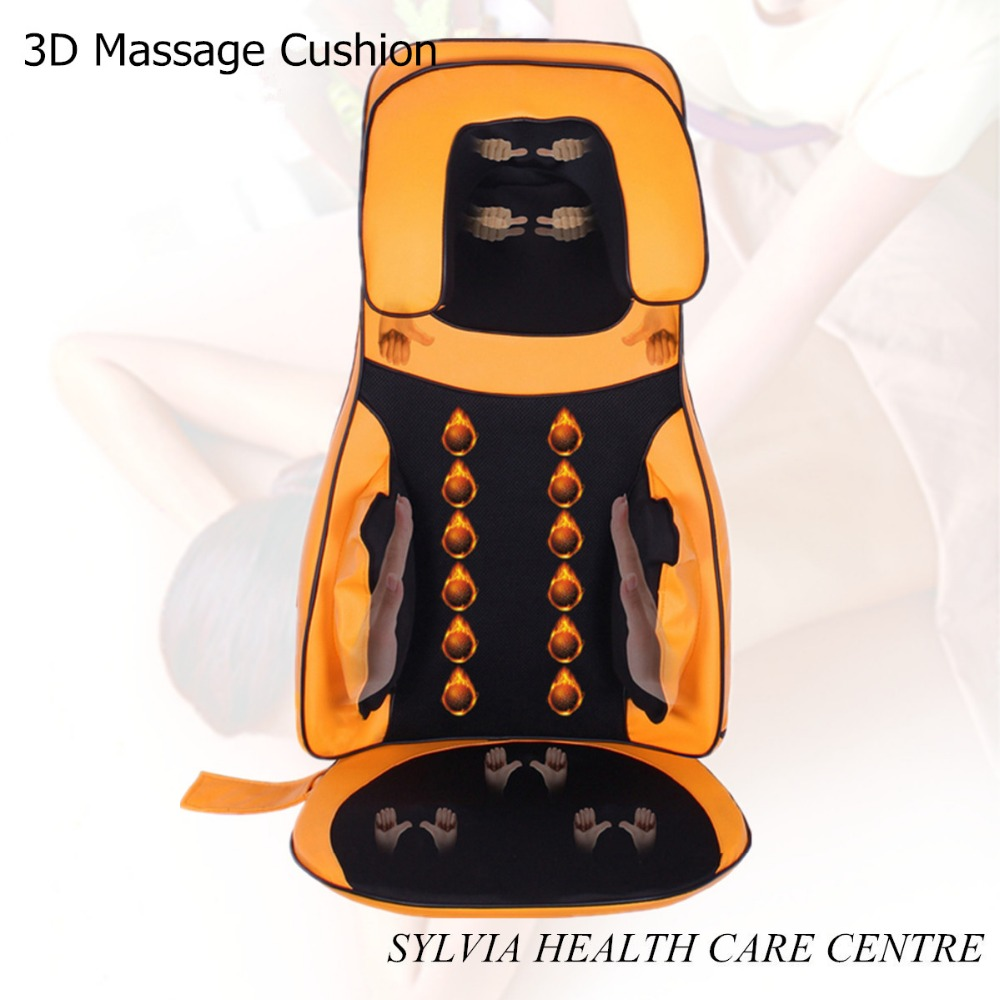 Full body Thai Back kneading neck shiatsu massager cushion air compression massage cushion массажная накидка wellneo 3d full body shiatsu