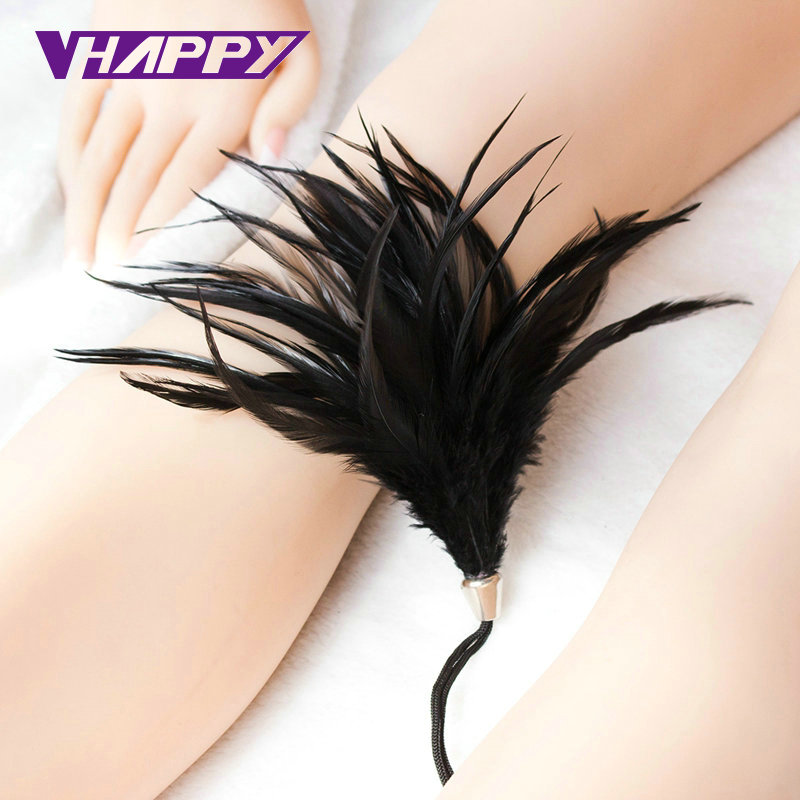 Hot Selling Sex Flirt Toys Rope Feather Tickler Happy Aid -2736