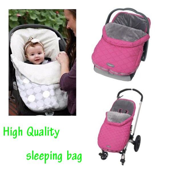 Winter Baby Warm Envelope Sleeping Bag Pram Umbrella Stroller Carrier Car Thermal Seat Pad For