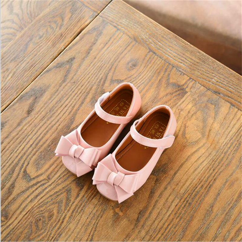 party girls shoes new fashion 2018 baby children kids girl princess leather red shoe spring autumn size 21~36 over 2 years old