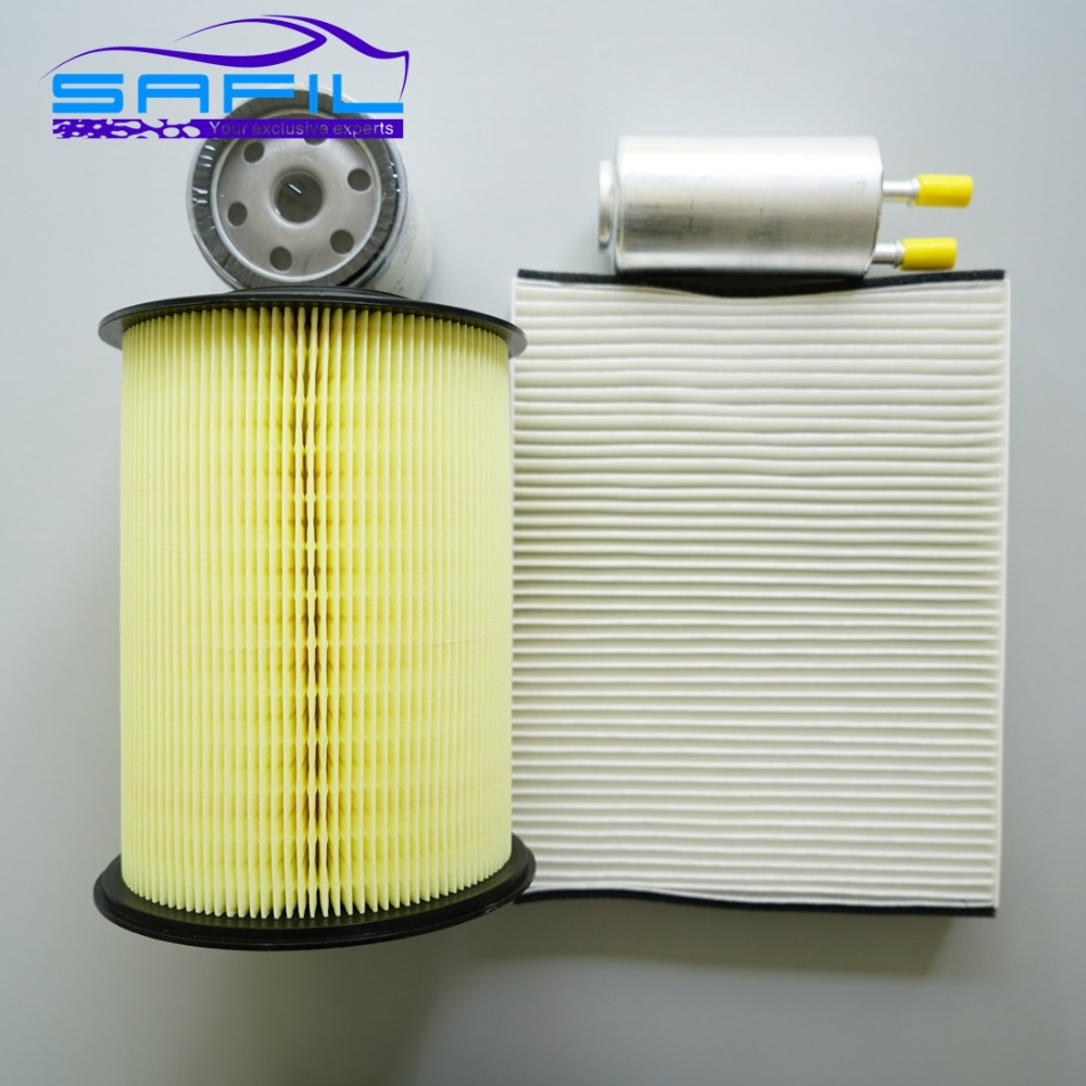set filters for ford Focus air  Oil  cabin air  fuel filter 7M519601AC CV6Z-19N619-A FL-910S 6G9N-9155-BB