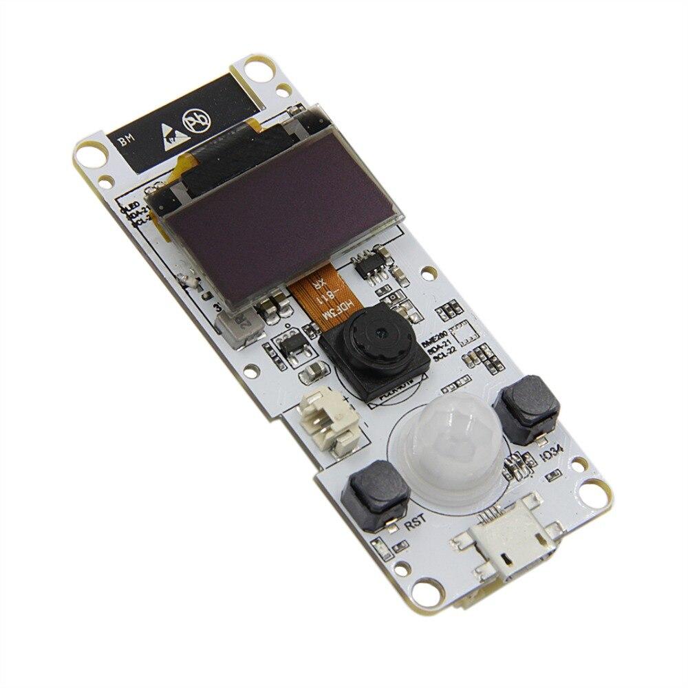 0 96 OLED TTGO T-Camera ESP32 WROVER & PSRAM Camera Module ESP32-WROVER-B  OV2640 Camera Module