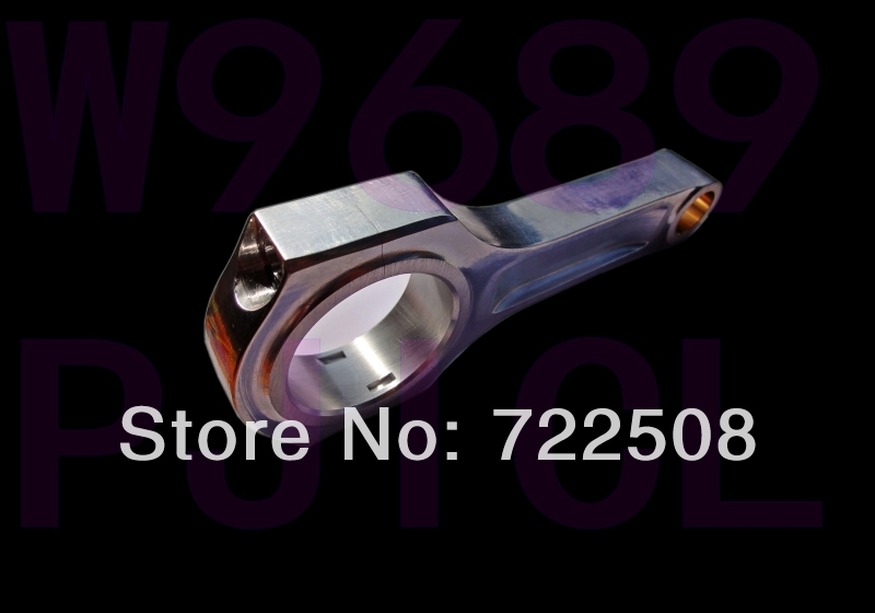 Plus léger forte glisser course bielle de course en aluminium forgé 7075 t6 billet haute ARP 3/8 livraison gratuite garantie de qualité
