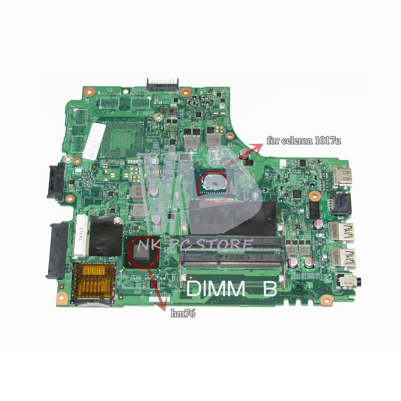 CN-0PTNPF 0PTNPF PTNPF Main Board For Dell Inspiron 3421 5421 Laptop Motherboard 1017U CPU DDR3 topperr fu 1