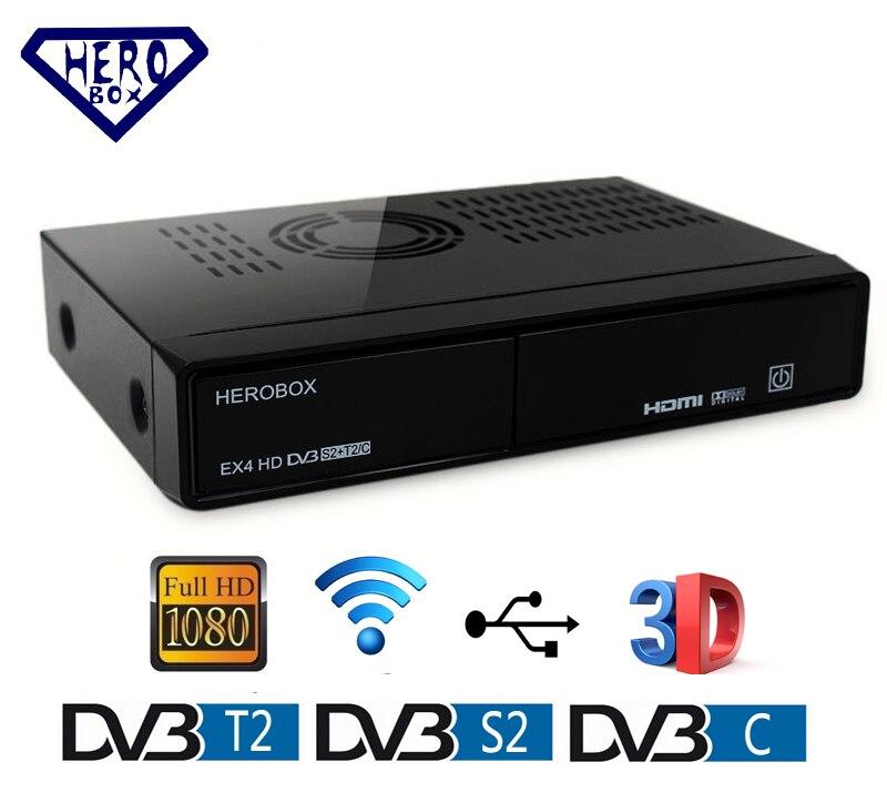 very good herobox ex4 hd wifi digatal satellite tv