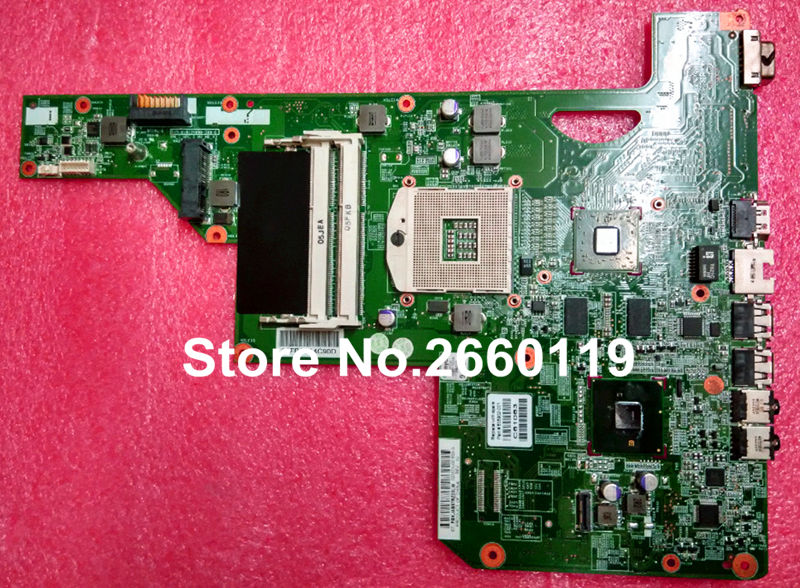 laptop motherboard for HP CQ62 G62 G72 605902-001 system mainboard fully tested and working well with cheap shipping for hp g62 g72 laptop motherboard with graphics 615848 001 01013y000 388 g