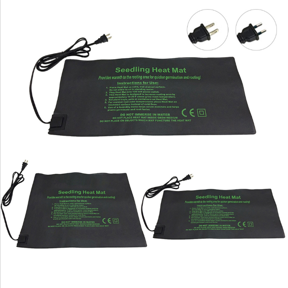 Plant Heating Mat 24*52CM 52*52CM 121*52CM Seedling Flower Electric Blanket Waterproof Warm Durable Hydroponic Heating Pad
