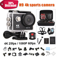 action camera h9 Original ultra deportiva camaras de video HD 4K WiFi 1080P 60fps waterproof 170D sport cam