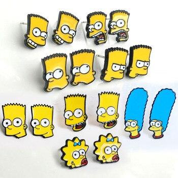 Сережки Симпсоны в ассортименте