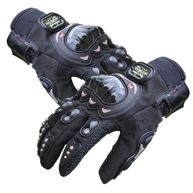 Image 3 - Mens GP Pro Supertech Black/White Motorcycle Leather Gloves Racing Glove Motorbike Cowhide racing bike knight-in Gloves from Automobiles & Motorcycles