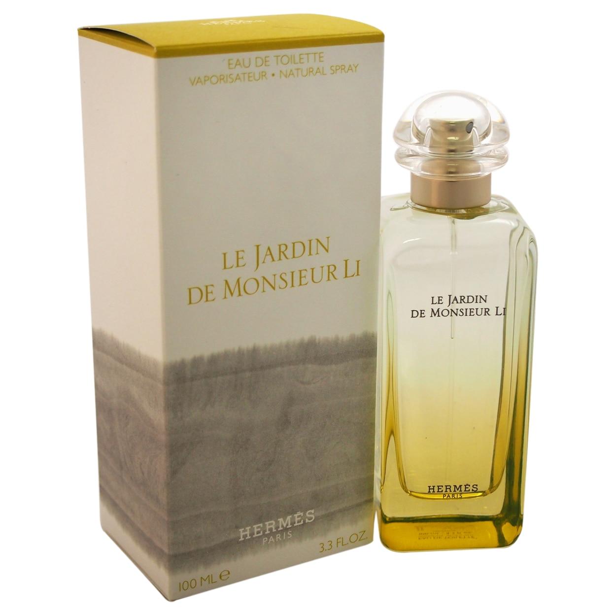 Le Jardin de Monsieur Li by Hermes for Women - 3.3 oz EDT Spray духи hermes parfums hermes le jardin de monsieur li