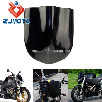 Универсальный черный мотоцикл ветер экран Fly Экран лобовое стекло для Buell XB9SX XB12S XB9S Streetfighter передний обтекатель >> zjmoto Store