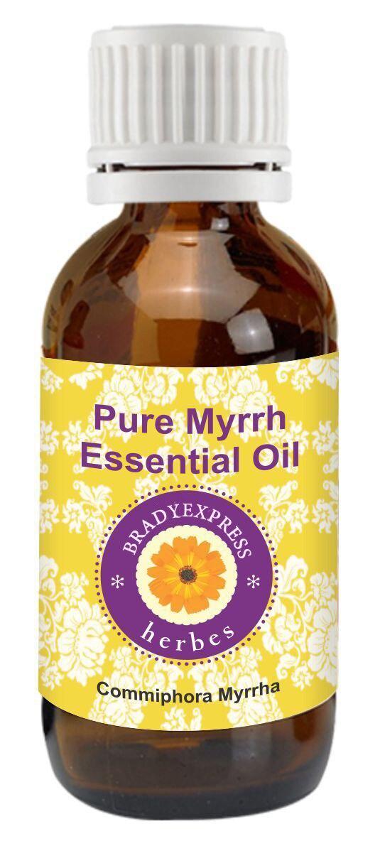 Livraison gratuite huile essentielle de myrrhe Pure (commiphora myrrha) 100% naturel thérapeutique Grade 5 ML