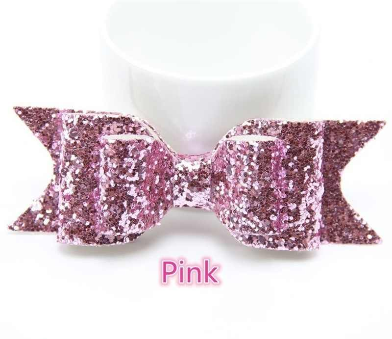 ZN Fashion Sequins Big Bowknot Hairpin Glitter Bow Hair Clips Headwear Ornament