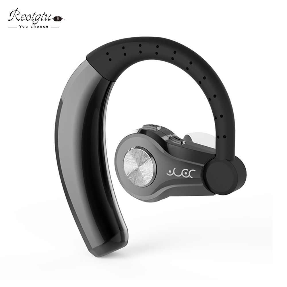 Handsfree Wireless Bluetooth Headsets earphone Sweatproof Sports Bluetooth Headphones with mic Voice Control Noise Cancelling