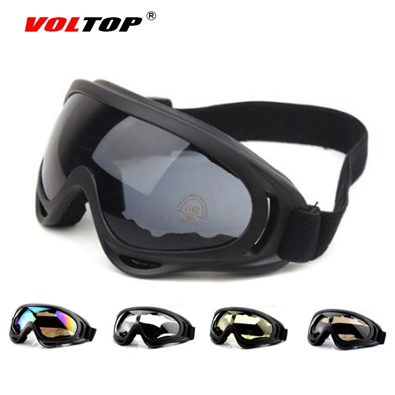 VOLTOP Motorcycle Glasses Windproof Dustproof Goggles Motor Bicycle Outdoor Riding Sungl ...