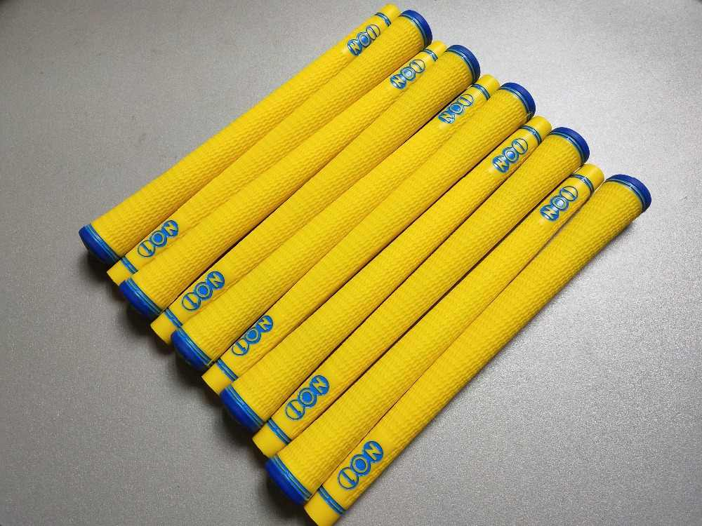 New 10 pcs/set no1 yellow and blue  Golf Grips Free Shipping