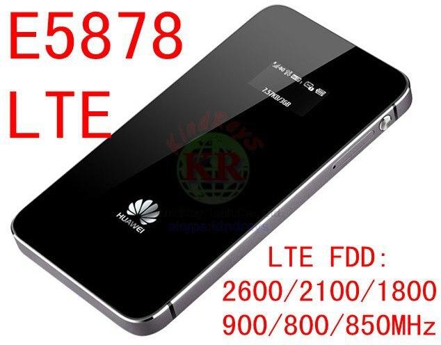 Huawei E5878s-32 4g lte desbloquear wifi router E5878 lte 4g 3g dongle 150Mbps FDD 4g lte MiFi router móvil pk E589 e5776 b593