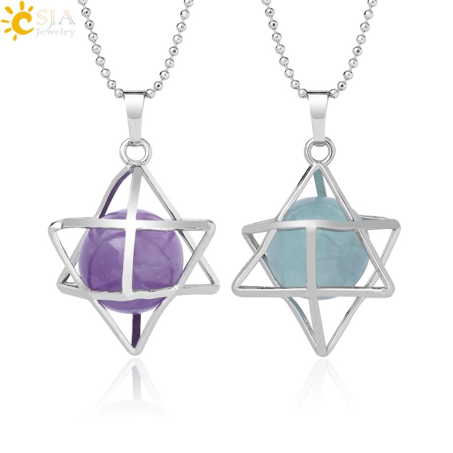 Gemstone Teardrop Meditation Pendant DIY Jewelry Stone DIY for Necklace Findings