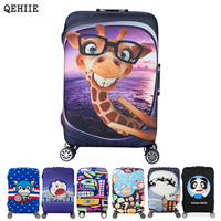 Suitcase Protective Case Suitcase Dust Cover Trolley Case Elastic Sleeve 20 24 28 30 Inch Thickening