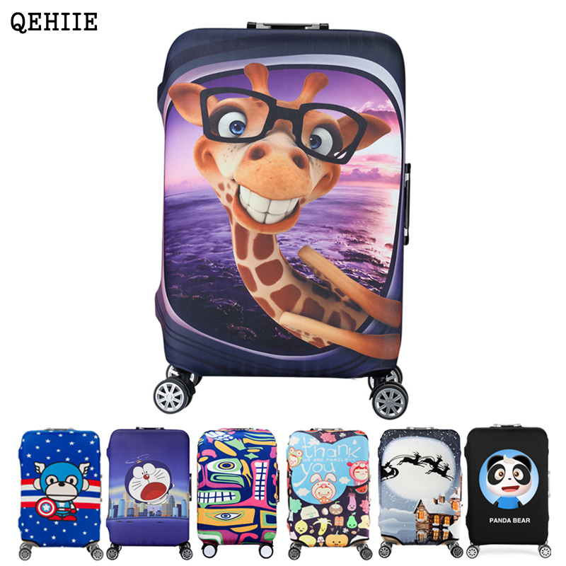 Safety case box suitcase dust cover protective sleeve trolley case elastic sleeve 20 24 28 30